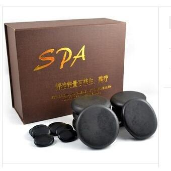 HI-20 能量石套装 16个装 SPA理疗能量石芳香精油能量石精品套装/养生/保健