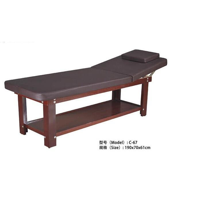 C-67 实木美容床