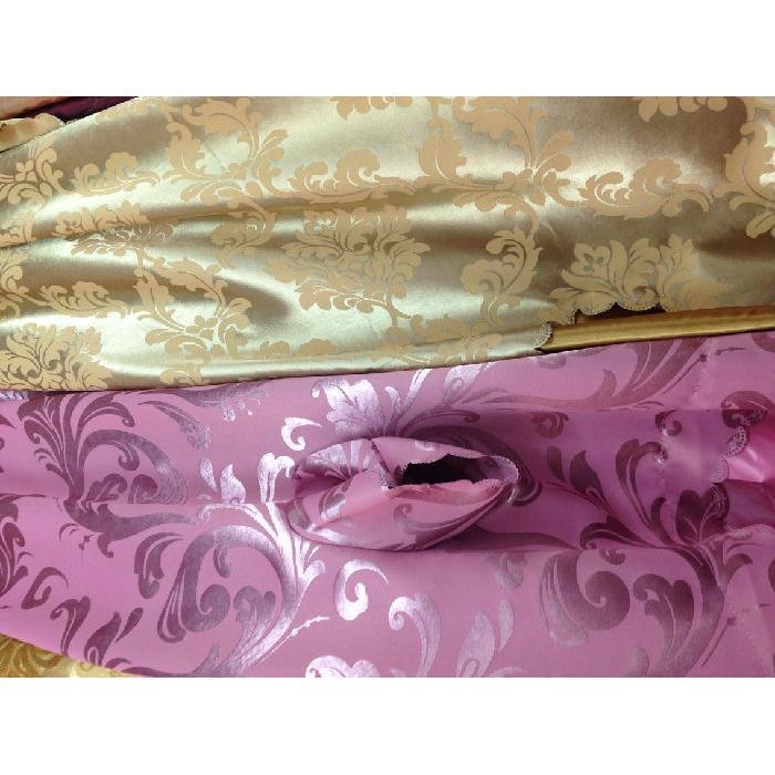 F4-粉红色/金色 床品四件套