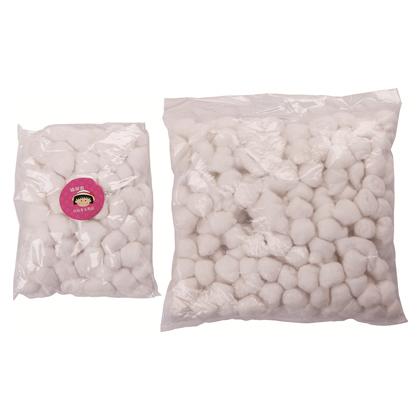 F-614 医用棉球100粒 消毒棉花球 灭菌医用棉球 干棉球 脱脂棉球