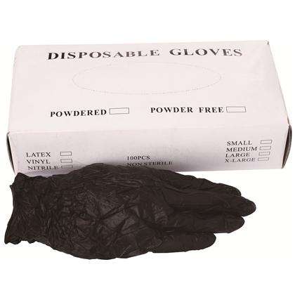F-605 丁睛黑手套 腈乳胶橡胶医用牙科防护手套  一次性手套