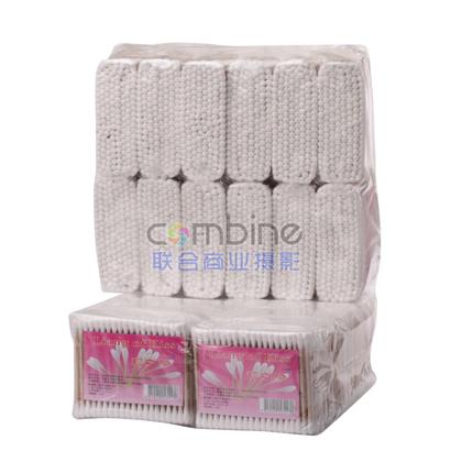 HD-5  200支木袋  棉签 纯棉卸妆棉棒化妆卫生棉签专用化妆棒