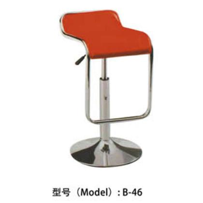 B-46# 美容椅 靠背凳子旋转升降吧椅