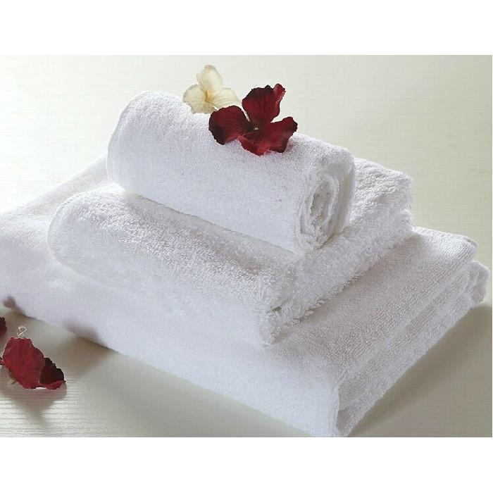 16S螺旋毛巾 纯棉白色 加厚吸水