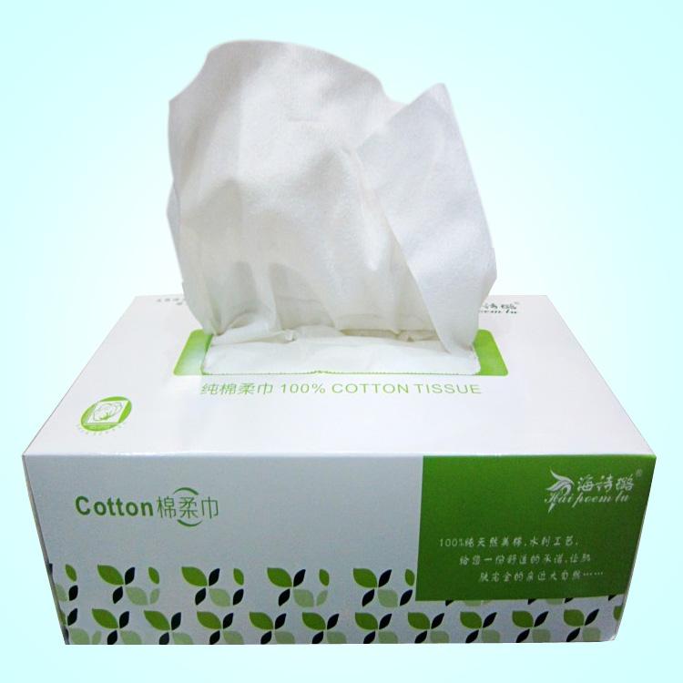 100片抽取式洁面巾美容专用巾一次性洗脸巾化妆棉卸妆棉