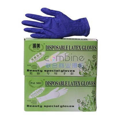 HA-3 紫丁晴手套 乳胶实验检查 医用 食品 防护 手套