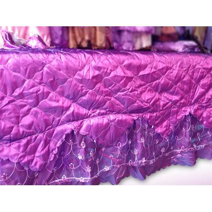 深紫色 床品四件套
