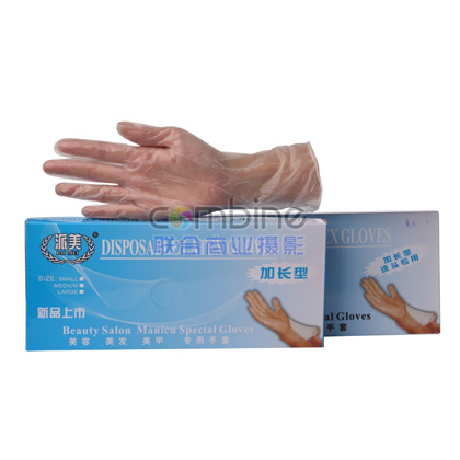 HA-6   加长型洗头专用手套 洗碗手套/刷碗/擦地 加长型 家务手套