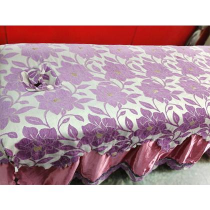 F7-紫色花 床品四件套