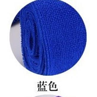 纤维面巾蓝色(速干巾)
