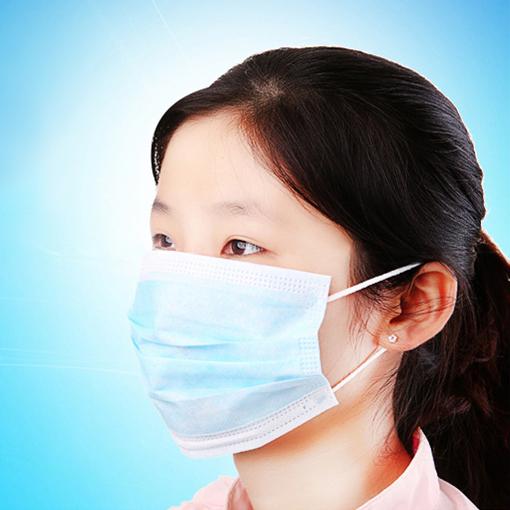 洁美 三层无纺布口罩  防晒口罩夏天医用 一次性口罩PM2.5口罩