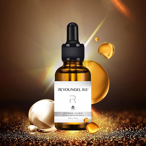 瑞漾年度新品透明质酸钠+神经酰胺高能小金瓶 小金瓶